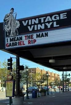 Vintage Vinyl remembers the man, the legend.