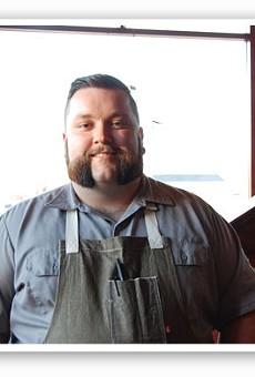 Chef Rick Lewis.   Cheryl Baehr