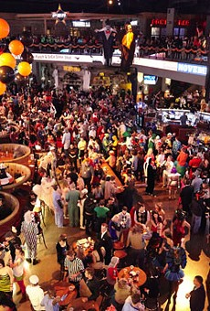 FOX Sports Midwest Live! at Ballpark Village boasts 20,000 square feet and a 40-foot LED screen.