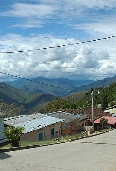 The village of Monserrate and its co-op president, Don Gabriel