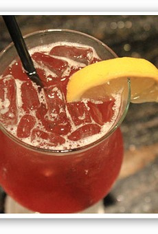 """One classy drink: the """"Southern Belle"""" at Kelly English Steakhouse. 