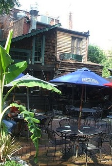 Patio at Molly's in Soulard