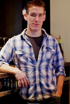 Farmhaus Bartender Eric Scholle Mixes...An Eggnog Martini!