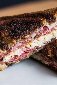 Ryder's Tavern's Reuben sandwich. | Photos by Mabel Suen