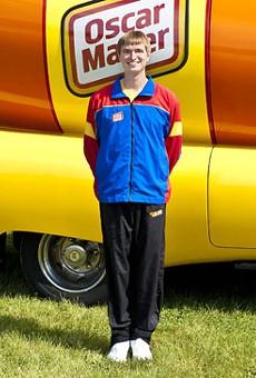 Hotdogger Brian Keefe.