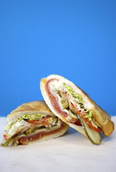 The Italian sandwich at Snarf's