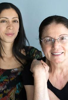 Hamishe Bahrami and her daughter, Natasha. | Jennifer Silverberg