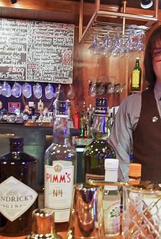 Danno's Bartender Chris Muether Mixes...An Agent Orange!