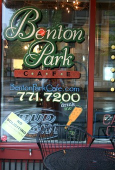 John Caton of Benton Park Cafe