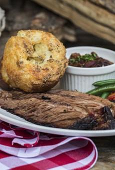 The beef brisket at Salt + Smoke. | Jennifer Silverberg