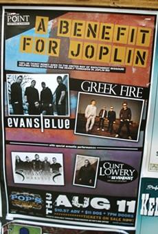 Rumdrum Ramblers, Benefit for Joplin: August 11-17 In Show Flyers