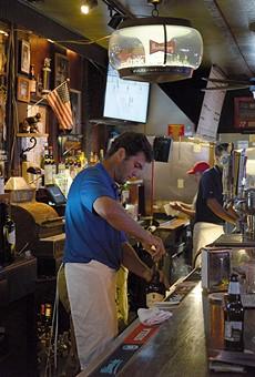 The Village Bar: One of the neighborhood bars we love.