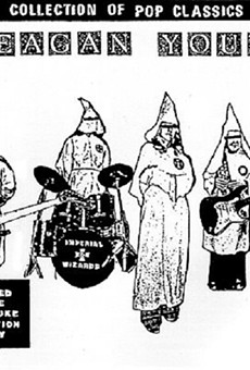 """Reagan Youth was a non-racist band who famously """"Hated Hate,"""" but who frequently used racist imagery in order to help drive home the band's point that Reagan was evil. The name of the group is in fact a parody of the """"Hitler Youth"""" of World War II."""