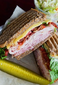 The turkey club at Grove East Provisions.