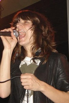 Eleanor Friedberger of the Fiery Furnaces