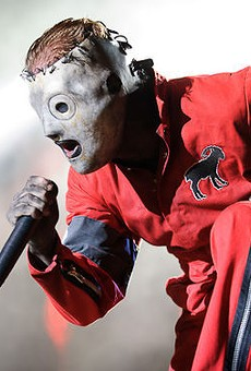 Slipknot returns to St. Louis with Lamb of God on August 16. Check out more photos of Slipknot at the 2012 Mayhem Festival here.