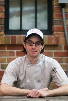 Michael Wise was destined for the restaurant business.