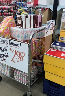 At Globe Drugs, treasures are lurking behind that bright wrapping paper.