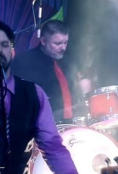 Jeff Gallo and Ken McCray performing in Superjam.