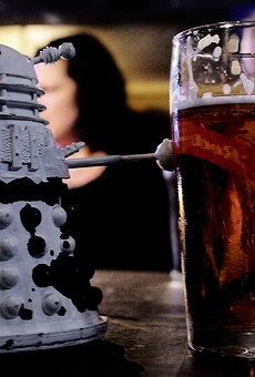 Even science fiction likes beer.