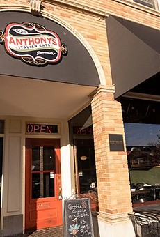 Anthony's Italian Eats has closed after nine all-too-short months.