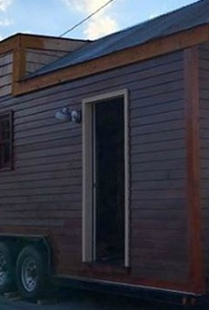 Entire Tiny House Stolen in St. Louis Because St. Louis Has No Shame
