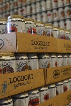 Drink For Free — Er — Sample Logboat Brewing Suds at Schnucks Tomorrow