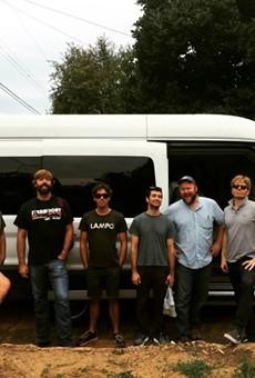 The members of Love Canon on August 31, just as it was embarking on its tour.