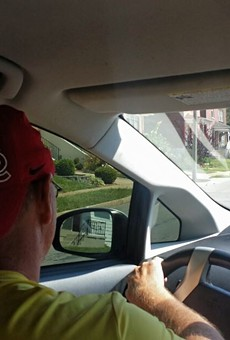 A view from the backseat of St. Louis' brave new world of ride-sharing.