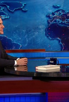 In April, before he officially announced his candidacy for Governor, Eric Greitens appeared on the Daily Show.