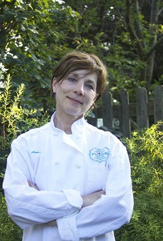 Pastaria's executive pastry chef and the founder of Banner Road Baking Company Anne Croy.
