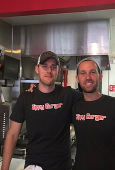 Billy Evans and Josh Shulman of Zippy Burger