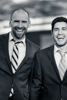 Shaun Murphy (left) and Aaron Lopez: It's now newspaper official.
