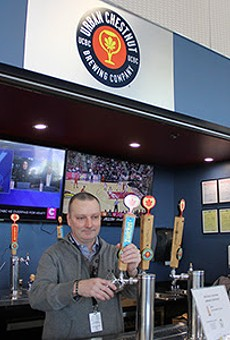 Urban Chestnut's new airport location is open for business in Terminal 2.