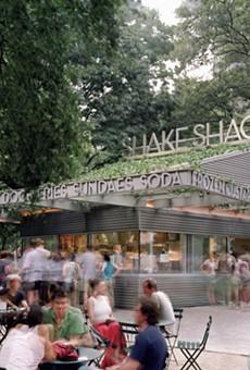 Shake Shack's Madison Square Park location in New York City