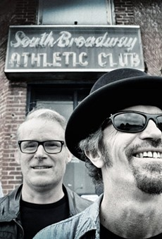 The Bottle Rockets, outside the South Broadway Athletic Club