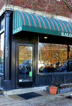 Kaldi's Coffee original shop is in the DeMun neighborhood.