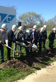 An April 2 groundbreaking marks the beginning of construction on a housing development in a DeTonty Street lot.