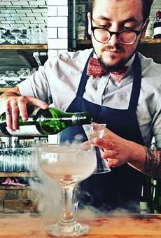 The Libertine's mad cocktail scientist, Ben Bauer.