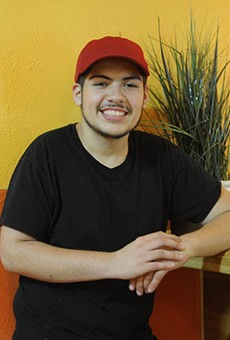 Pablo Quezada: He'll be nineteen in July.