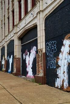 """Free the Merf"" Defaces Phil Berwick's Street Art"