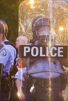 St. Louis cops respond to protests over Mansur Ball-Bey's death.