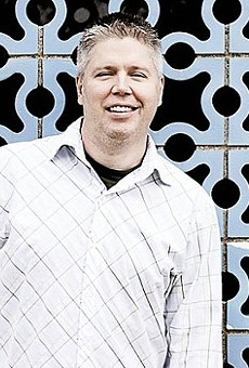 Jeff Roorda, business manager of the St. Louis Police Officers Association and chronic sufferer of foot-in-mouth disease.