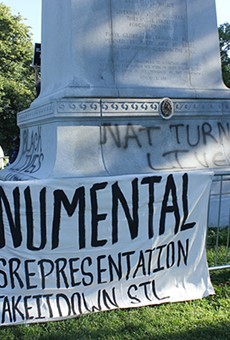You won't find a Confederate monument in Forest Park anymore. But you could still visit the site.