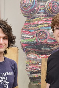 Westminster Press co-founders Tucker Pierce, left, and Nicholas Curry, right.