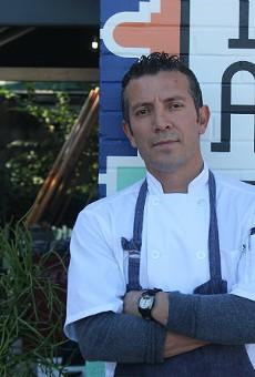 Nixta's executive chef Tello Carreon.