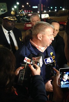 Police Chief Sam Dotson describes an attack on a sergeant.
