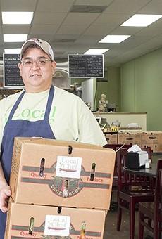 Robert Uyemura brings the CSA spirit to Local Chef Kitchen.