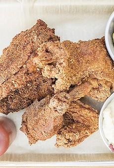 Byrd & Barrel's fried chicken.