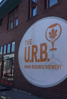 The U.R.B. Lets You Taste-Test Beer — and Eat Pizza — in the Grove